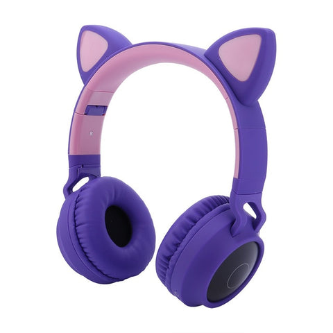 Cat Ear Bluetooth Headphone