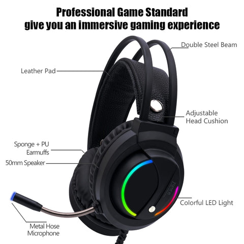 Wired RGB Gaming Headset