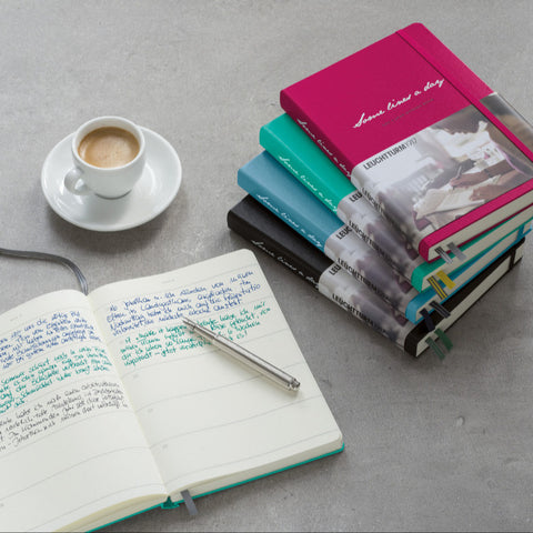Leuchtturm1917 Some Lines A Day 5 Year Memory Book | Penny Black