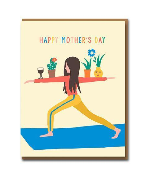 Yoga Mum Mother's Day Card | Penny Black