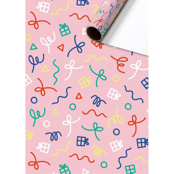 Yolli Pink Gift Wrapping Paper Roll