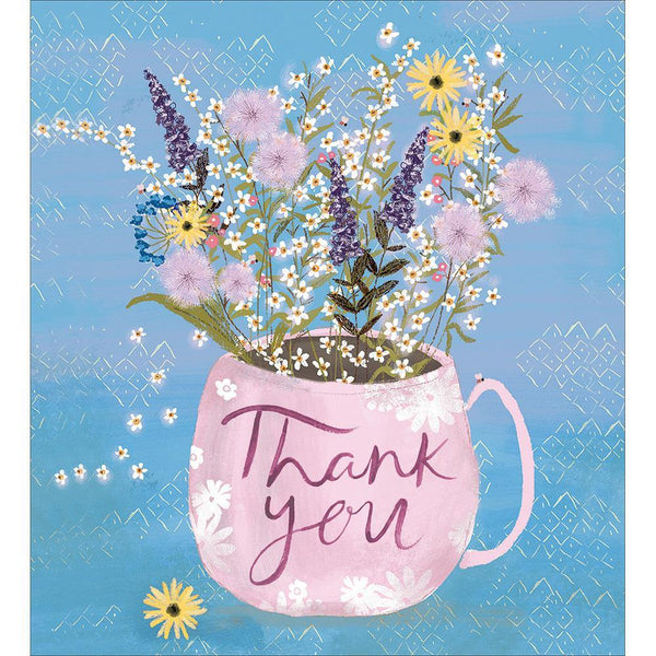 Freshly Picked Blooms Thank You Card | Penny Black