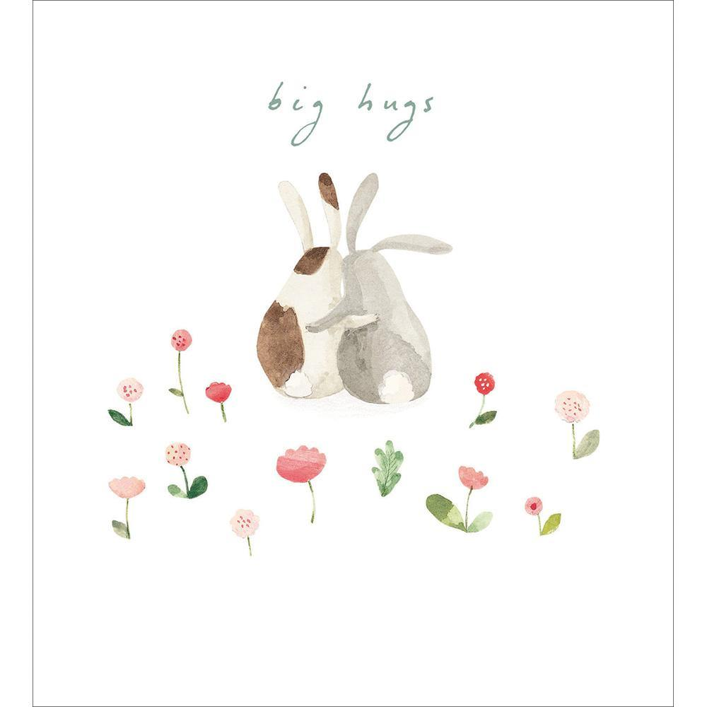 Bunny Hugs Thinking Of You Card | Penny Black