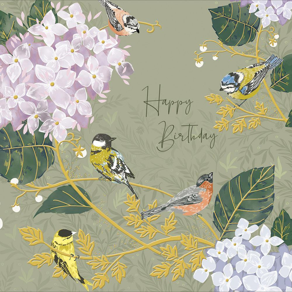 Floral Delight National Trust Birthday Card | Penny Black