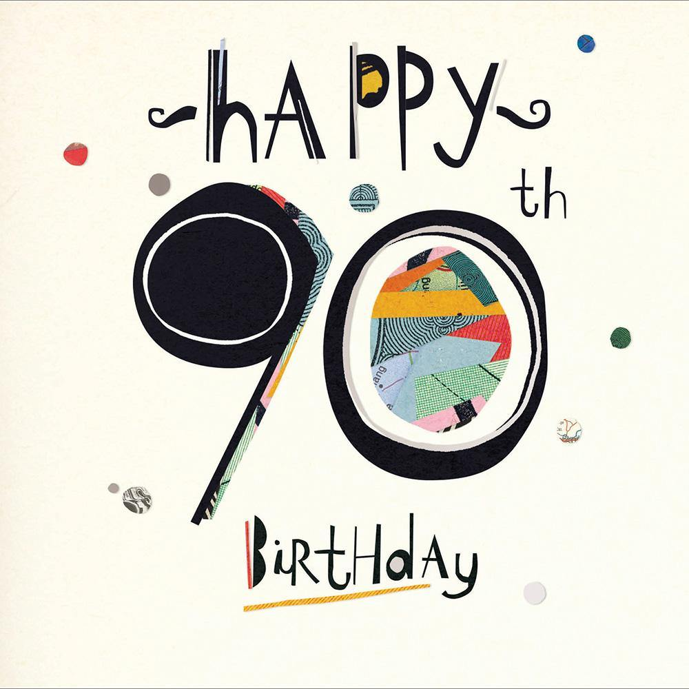 Collage 90th Birthday Card | Penny Black