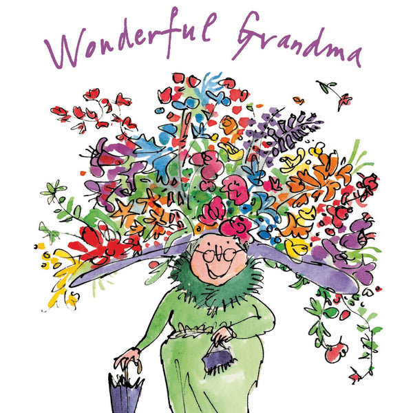 Wonderful Grandma Quentin Blake Mother's Day Card