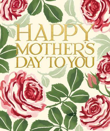 Happy Mother's Day To You Roses Emma Bridgewater Card At Penny Black