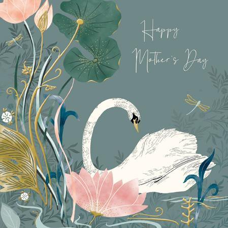 Elegant Swan Mother's Day Card At Penny Black