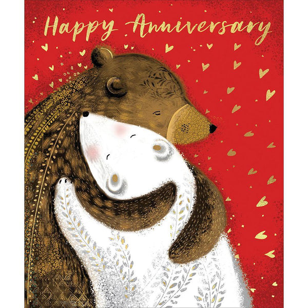Bear Hug Anniversary Card | Penny Black