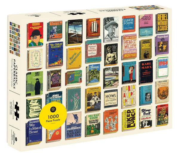 Classic Paperbacks 1000 Pc Jigsaw Puzzle | Penny Black