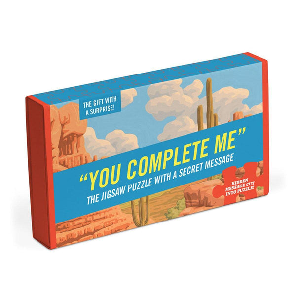 You Complete Me Message Puzzle - Penny Black
