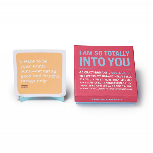 I Am So Totally Into You Inner-Truth Deck - Penny Black