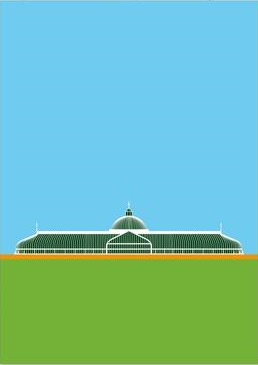 Postcard Glasgow Botanic Gardens Greeting Card