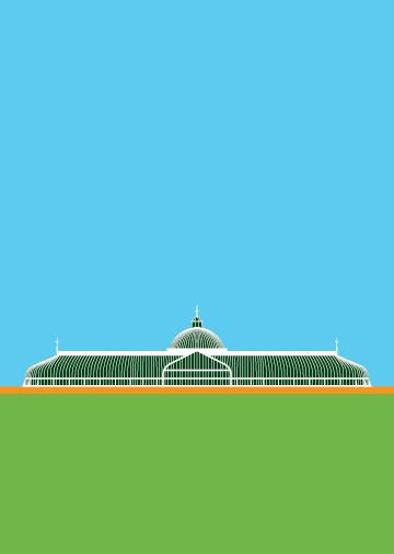 Glasgow Botanic Gardens Greeting Card