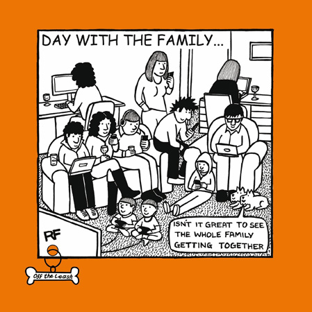 Day With Family Greeting Card