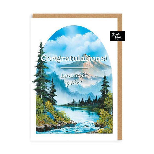 Congratulations Love From Bob Ross Card | Penny Black