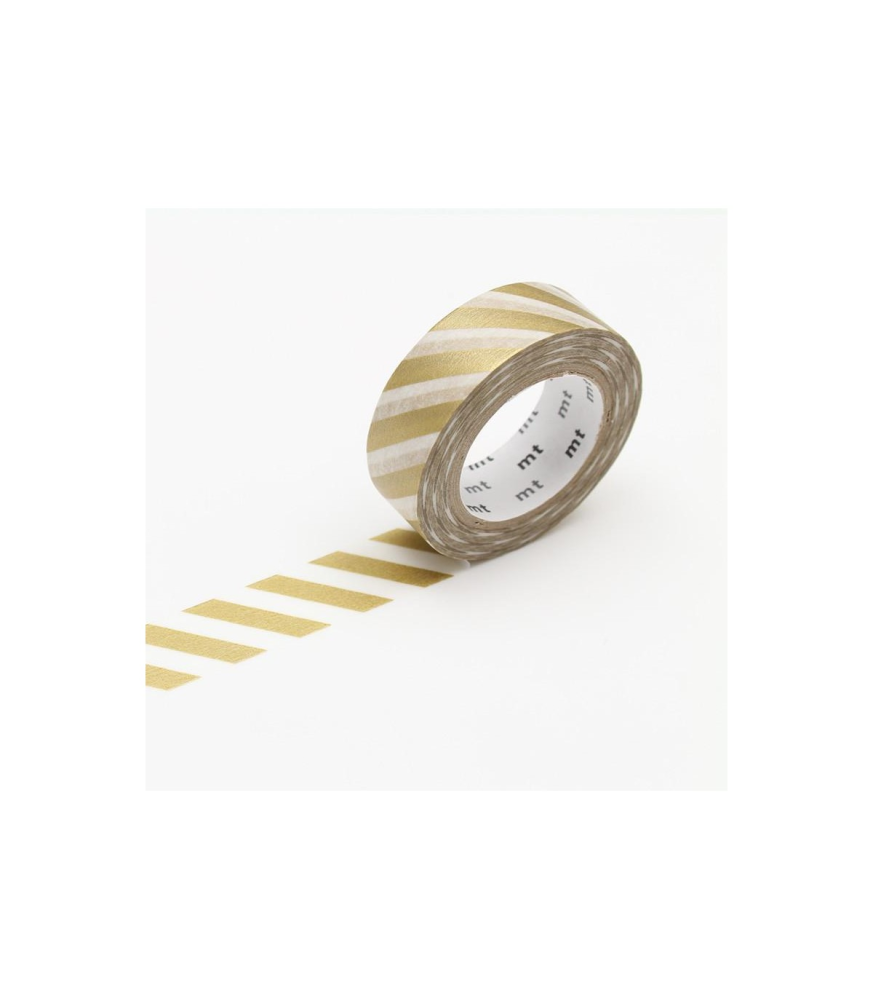 MT Stripe Gold Washi Tape