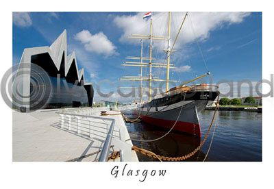 Glasgow Transport Museum Postcard Greeting Card