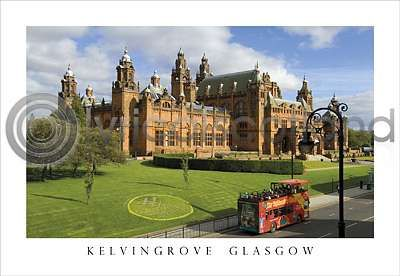 Kelvingrove Art Gallery Postcard Greeting Card