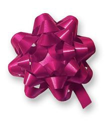 Cerise Gift Bow 50mm