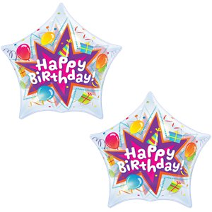 Bubbles Birthday Party Blast Star 22 Balloon Balloons