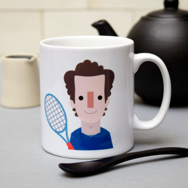 Andy Murray Mug - Penny Black