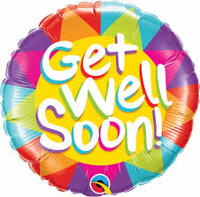 Get Well Soon Sunshine 18 Balloon Balloons
