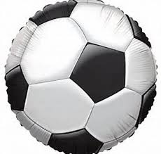 Soccer Ball 18 Foil Balloon Balloons
