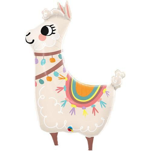 Loveable Llama Foil 45 Balloon Balloons