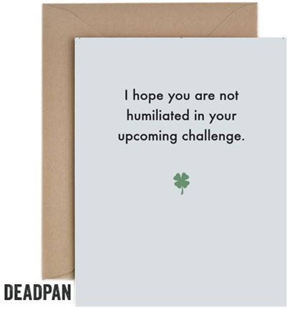 Not Humiliated Greeting Card
