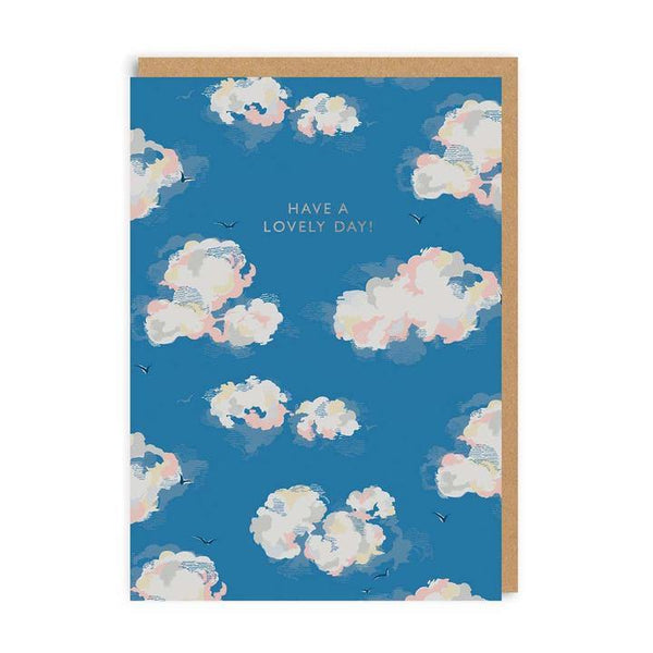 Have A Lovely Day Clouds Cath Kidston Birthday Card | Penny Black
