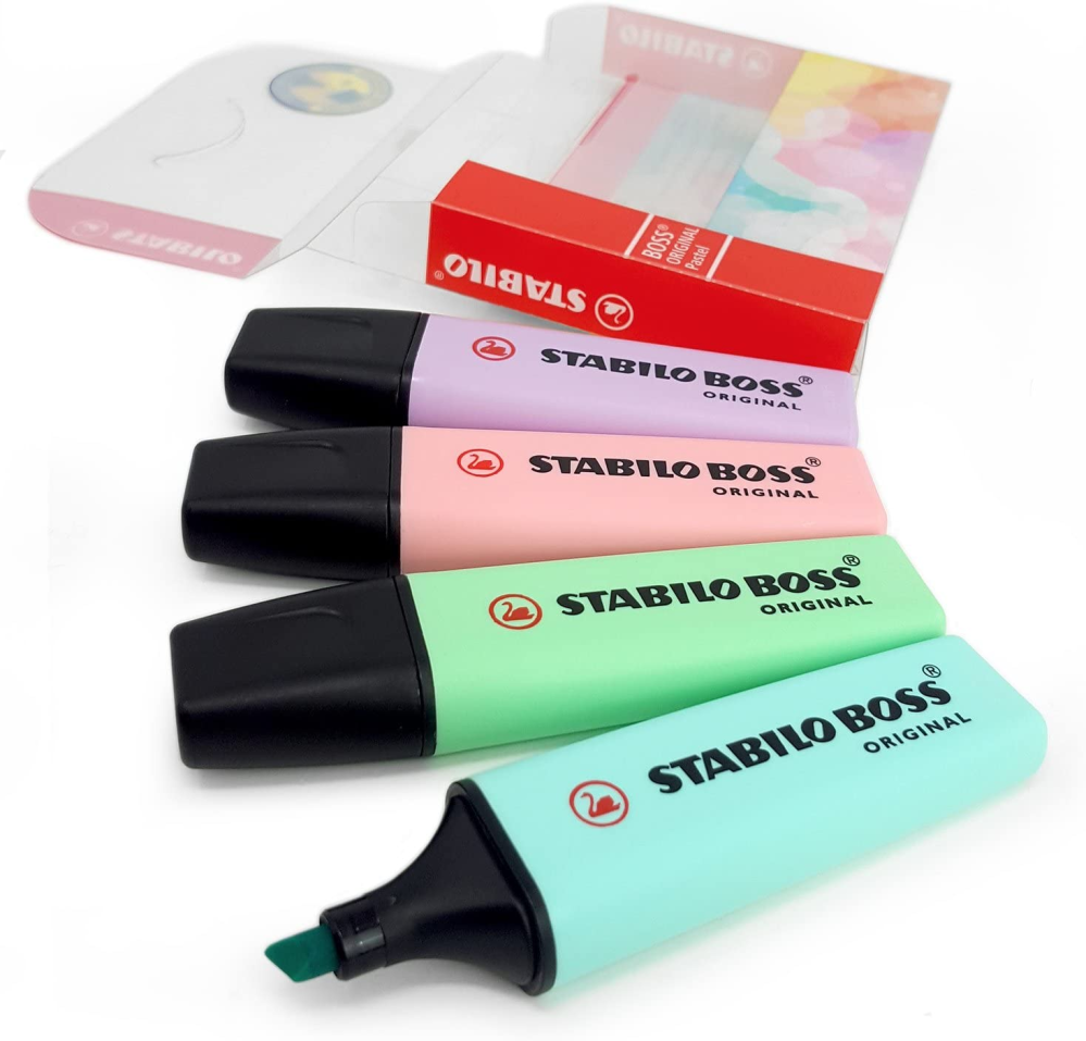Stabilo Pastel Highlighters Set