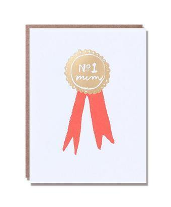 Number One Mum Medal Mother's Day Card | Penny Black
