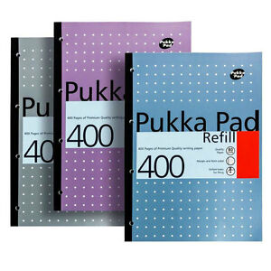 Pukka Pad A4 Refill 400 Page