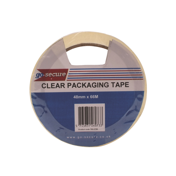 Go Secure Packaging Tape Clear