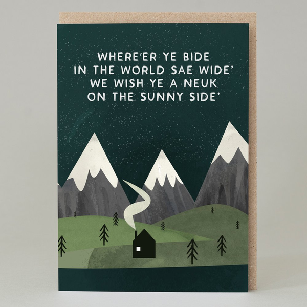 Whereer Ye Bide Greeting Card