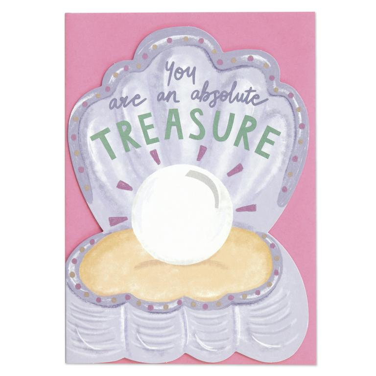Absolute Treasure Greeting Card