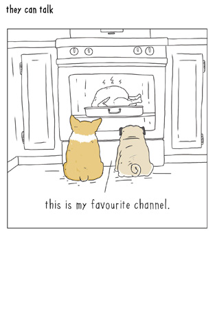 Favourite Channel Greeting Card