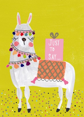 Llama Just To Say Cards