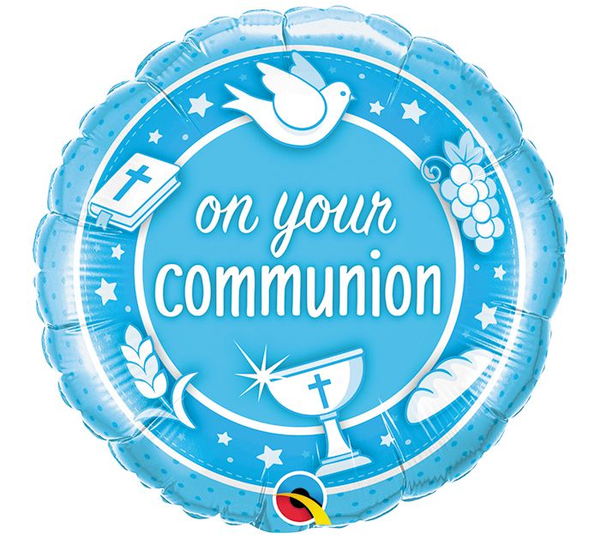 On Your Communion Balloons
