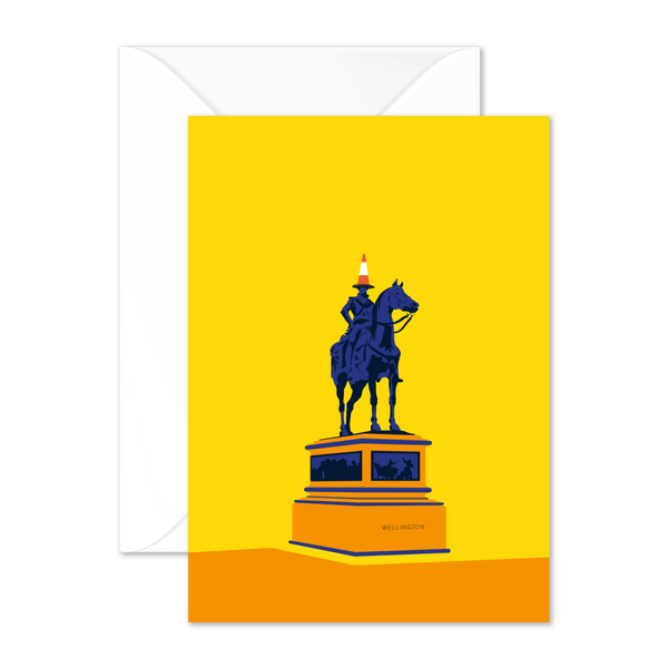 Duke Wellington Greeting Card