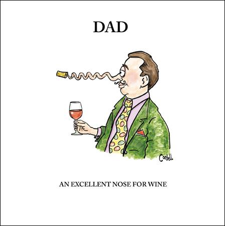Dad Nose Greeting Card