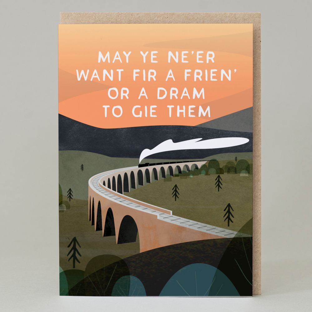 Friend Or Dram Greeting Card