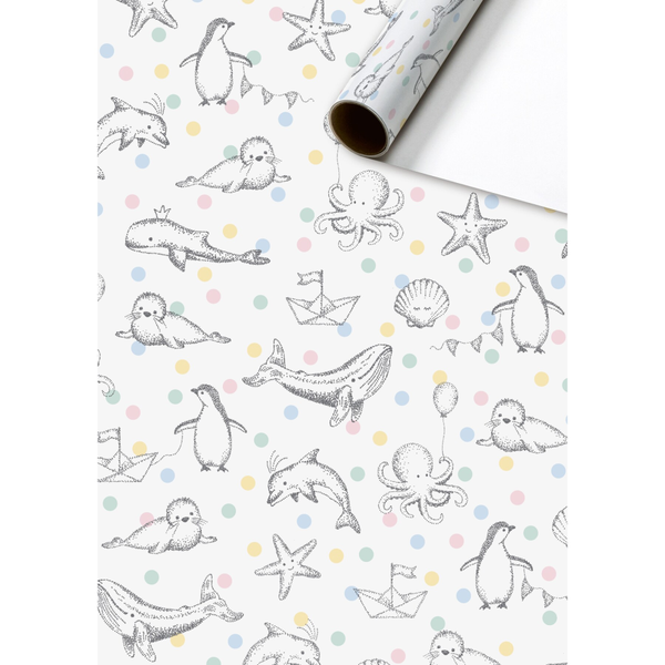 Moby Wrapping Paper