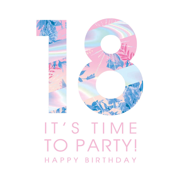 18 Time To Party Greeting Card