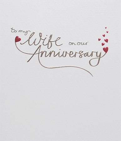 Wife Anniversary Greeting Card