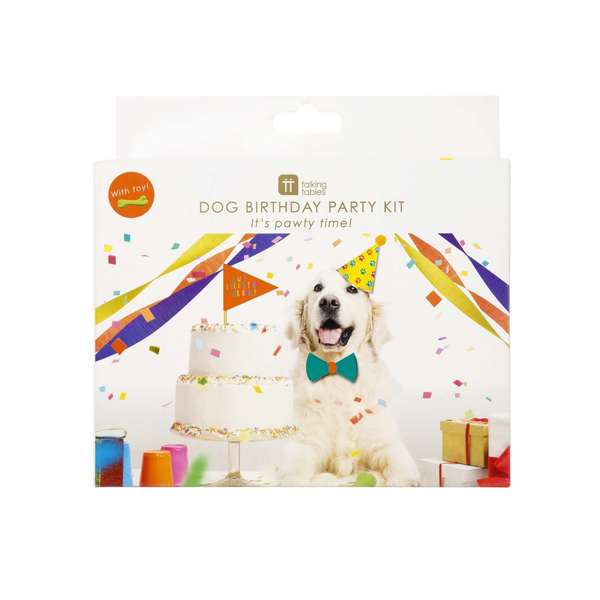 Dog Party In A Box Partyware