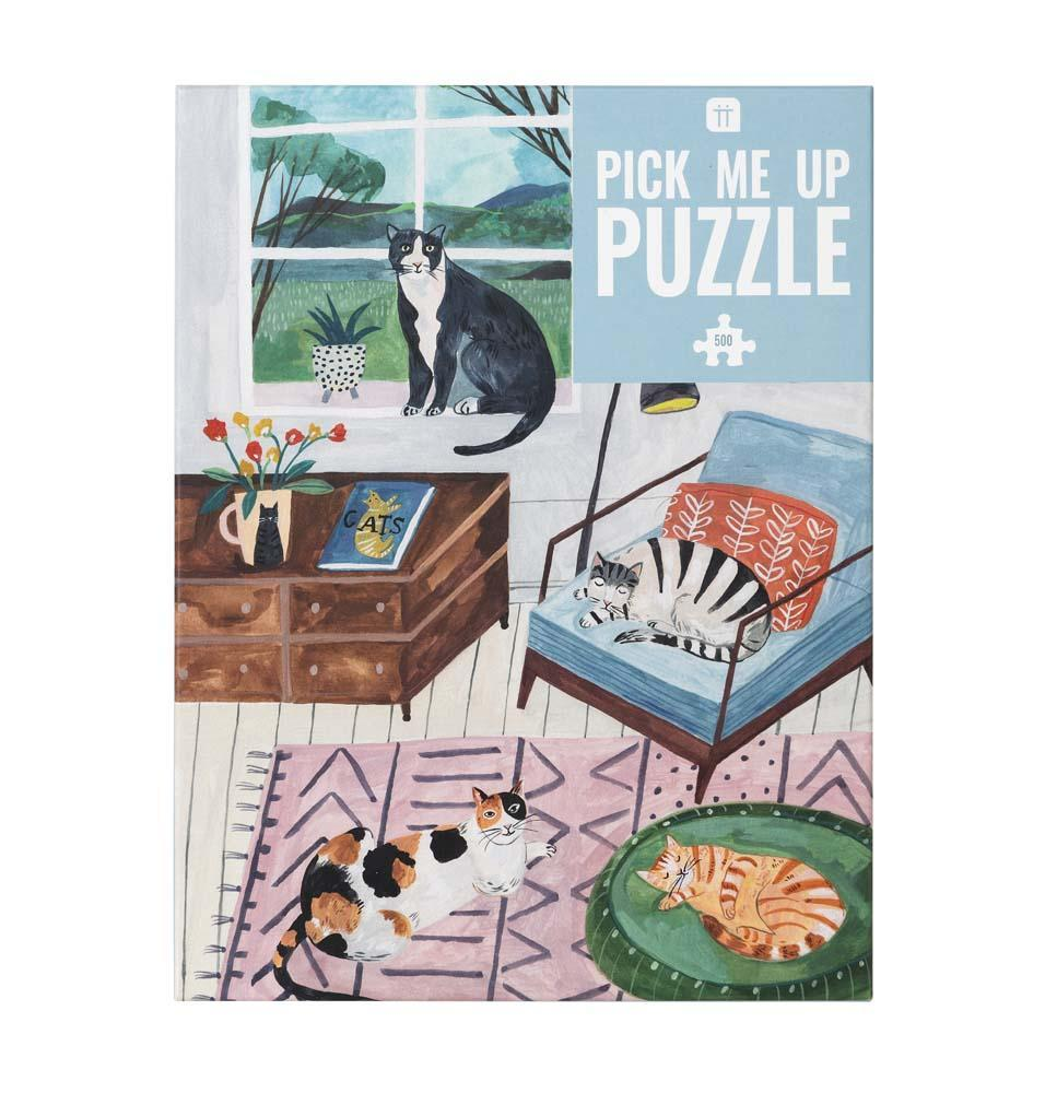 Cats Jigsaw - Penny Black