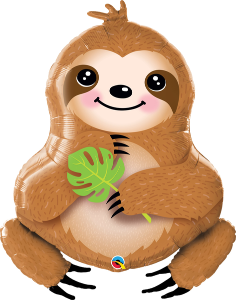 "Sweet Sloth 39"" Balloons"