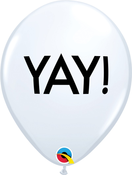 "Simply YAY 11"" Latex Balloons 6 Pk Balloons"